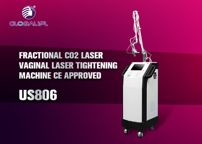 Acne And Acne Scar Removal CO2 Fractional Laser Machine With Air Cooling System